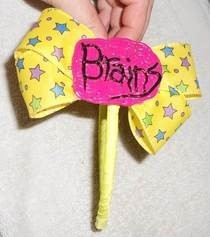 Brainy Bow Head Band