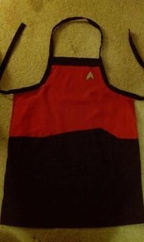 Star Trek Apron