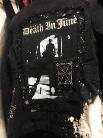 Bleached Post Apocalyptic Death In June Jacket