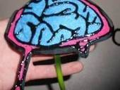 Zombie Brain Headband