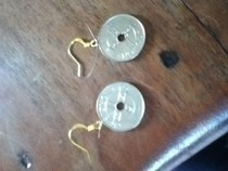 Norwegian Kroner Ear Rings!