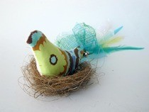 Fabric And Feathers Cat Toys