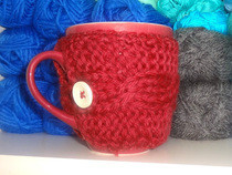Knitted Mug Warmer