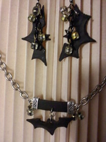 Batman Inspired Jewelry Set
