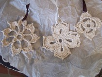 Moorish And Modified Flemish Motifs/Snowflakes