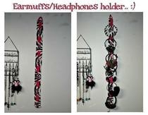 Earmuffs Holder/Organizer