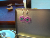 Perler/Hama Daisy Earrings