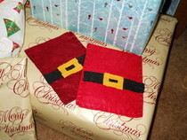 Santa Gift Card Holder