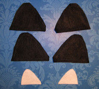 How to make a pair of cat ears. From Headband To Cat Ears - Step 2