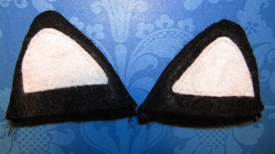 How to make a pair of cat ears. From Headband To Cat Ears - Step 4