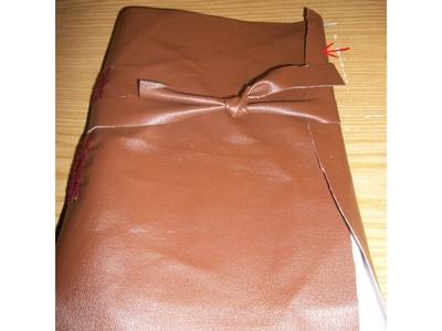 How to make a leather journal. How To Make A Book - Step 2