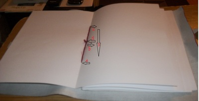How to make a leather journal. How To Make A Book - Step 6