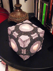 Companion Cube Plush
