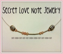 Secret Love Note Jewelry