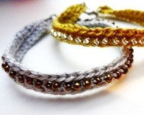 Crochet Seed Bead Bracelet