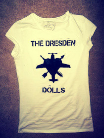 Dresden Dolls Top.