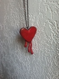 Bloody Heart Necklace