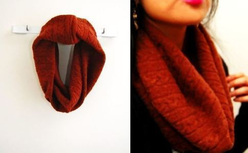 Sweater Tube Scarf