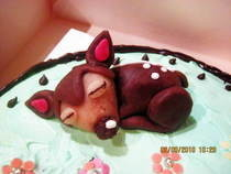 Bambi Cupcake
