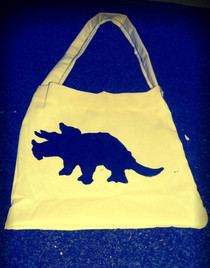 Triceratops Bag.