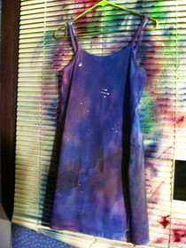Cosmic/Galaxy Dress