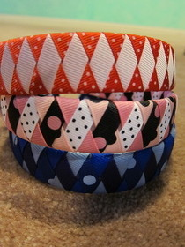 Ribbon Woven Headbands