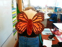 Corset With Butterfly Wings