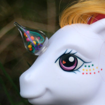 My Little Pony   Strawberry Anarchy Ooak Custom Pony   Square Berries