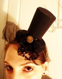 Tiny Top Hat For New Year's Eve