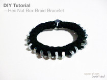 Hex Nut Box Braid Bracelet