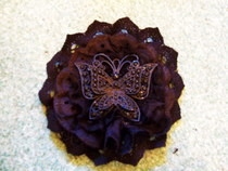 Gothic Butterfly Brooch