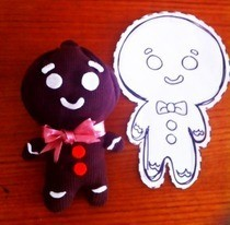 Gingerbread Man Plushie