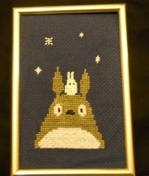 My Neighbour Totoro X Stitch