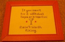 If You Can't Fix It... X Stitch