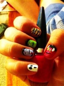 Monster Mash Nails!