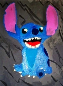 Disney's Stitch Painting