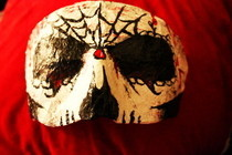 Bloody Villian Mask (For Decoration)