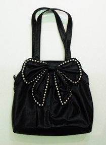 Ribbon Studded Bag
