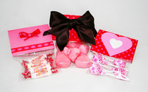 Valentine's Day Candy Cellophane Treat Bags