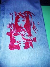 Angelspit Pants (Stencil)