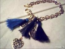 Tassel Charms Bracelet