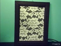 Lace In A Frame