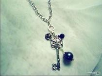 Key Pendant Necklace