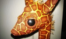 Weighted Giraffe Plush