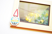 Embroidery Embellished Photo Frame