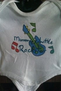 Mummy's Little Rockstar