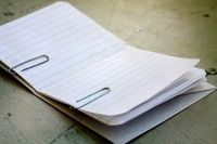 How to make a notebook journal. Pocket Notebook - Step 11