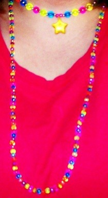 Raver/Flapper Necklace