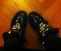 Studded Rock'n'roll/Punk Shoes 