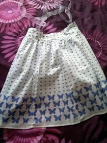 Summer Skirt To Cute Apron!